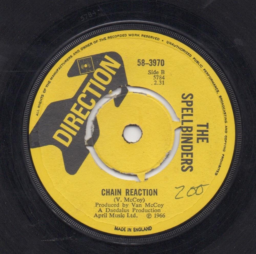 SPELLBINDERS - CHAIN REACTION