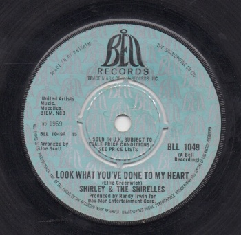 SHIRLEY & THE SHIRELLES - LOOK WHAT YOU'VE DONE TO MY HEART