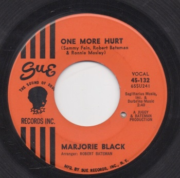 MARJORIE BLACK - ONE MORE HURT
