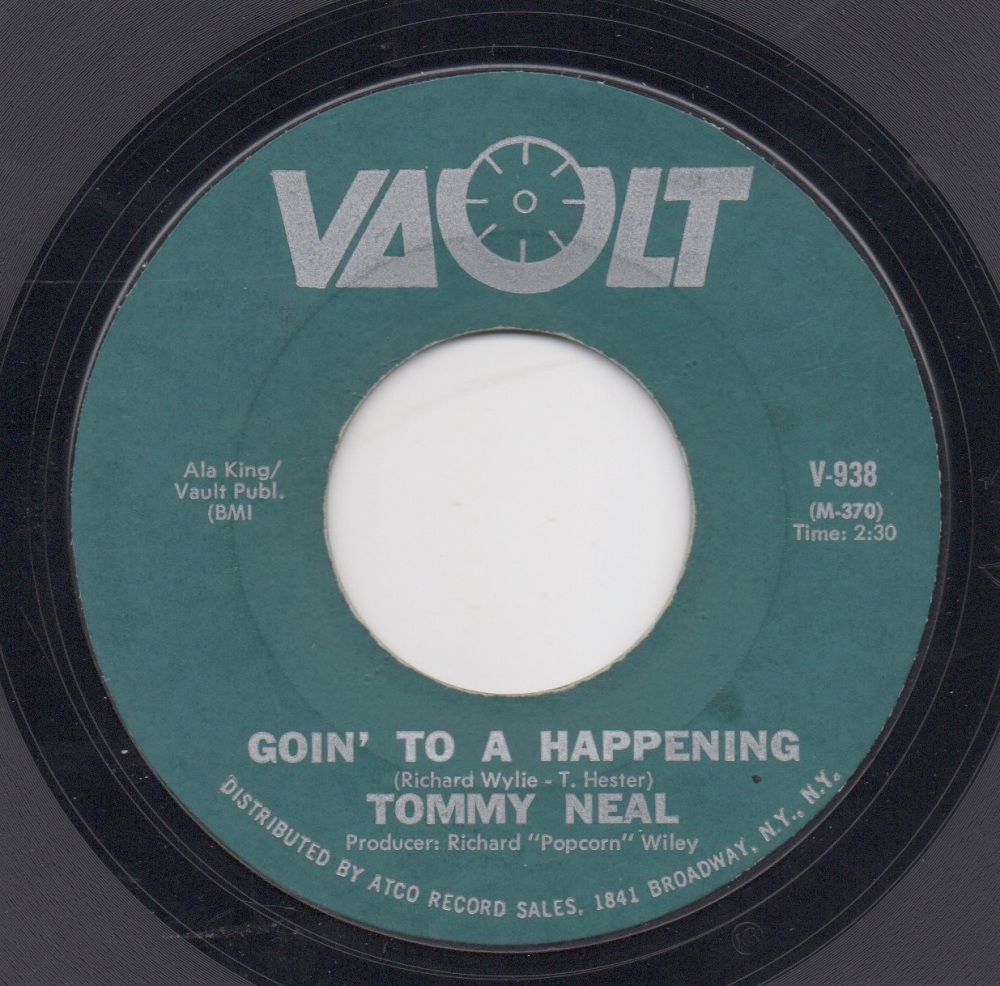 TOMMY NEAL - GOIN' TO A HAPPENING