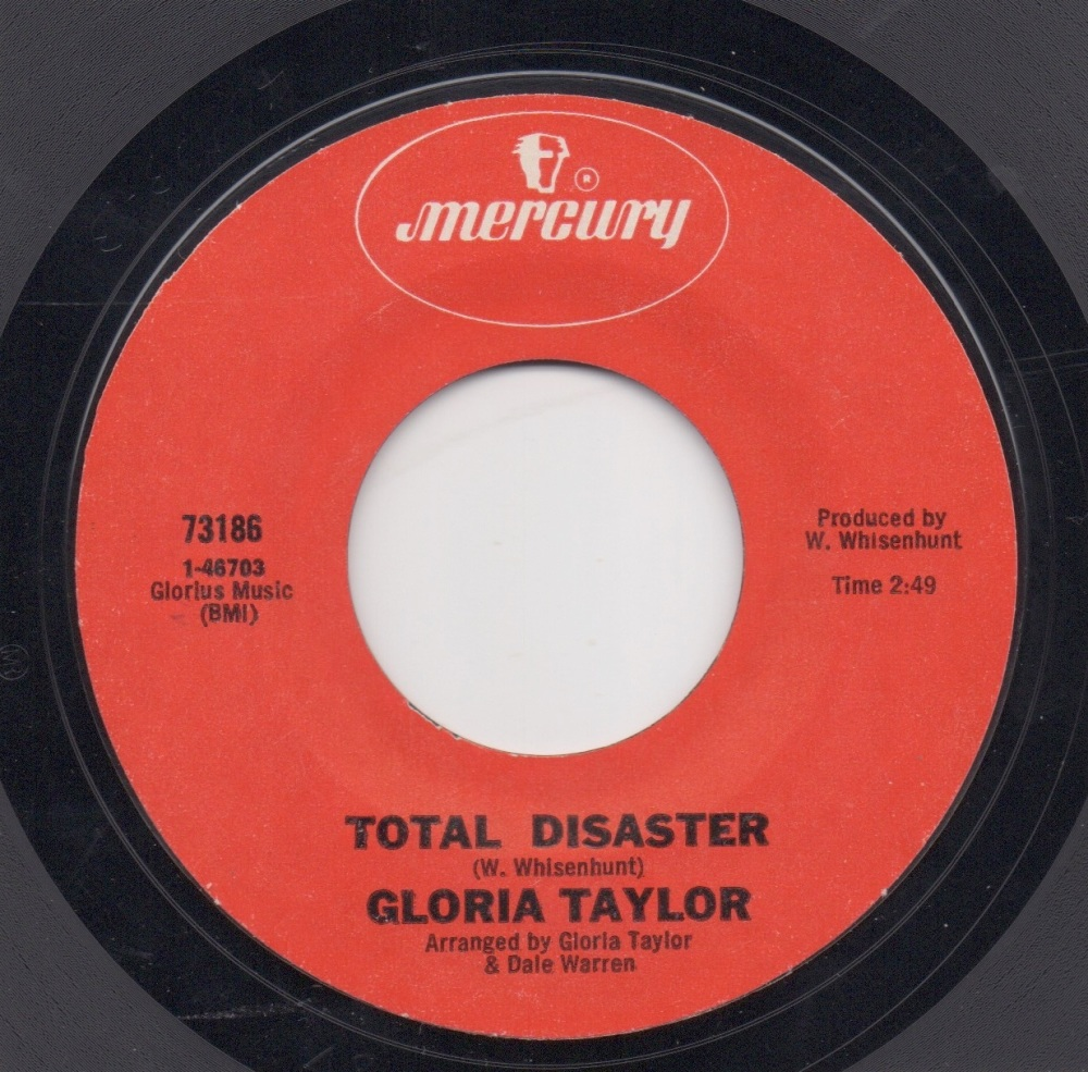 GLORIA TAYLOR - TOTAL DISASTER
