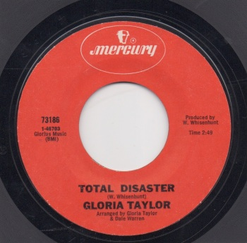 GLORIA TAYLOR - TOTAL DISASTER