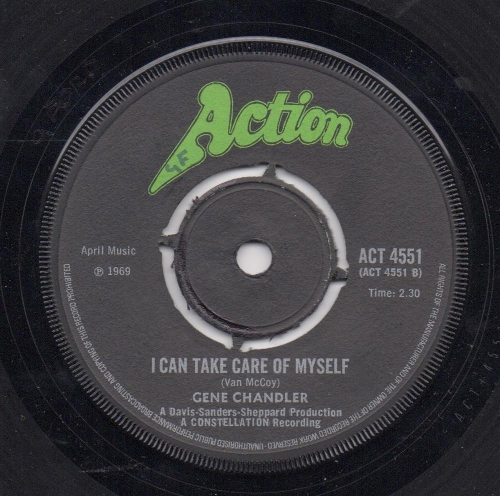 GENE CHANDLER - I CAN TAKE CARE OF MYSELF