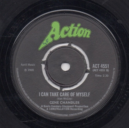 GENE CHANDLER - I CAN TAKE CARE OF MYSELF