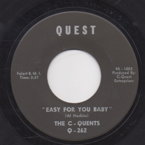 C-QUENTS - EASY FOR YOU BABY