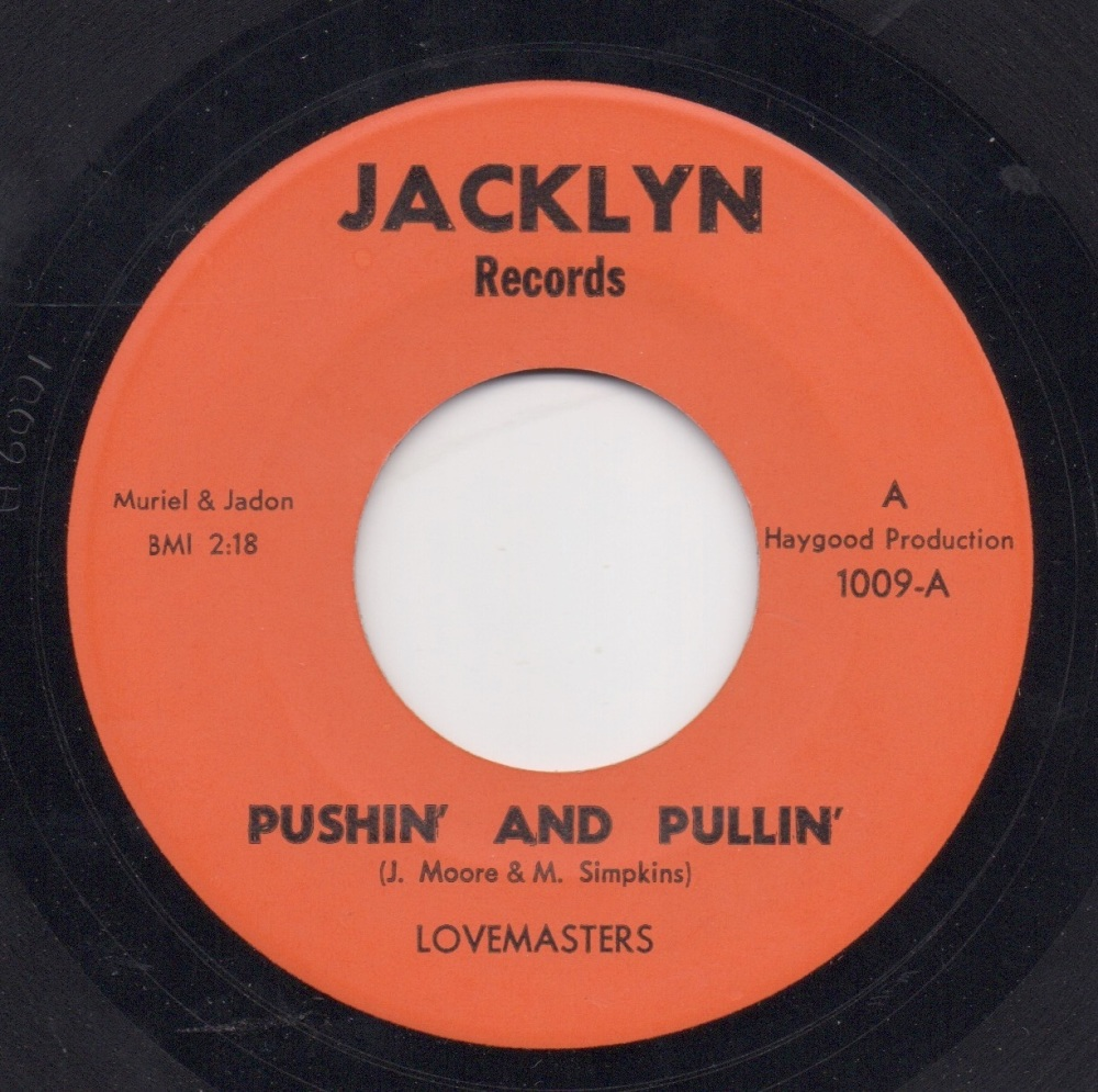 LOVEMASTERS - PUSHIN' AND PULLIN'