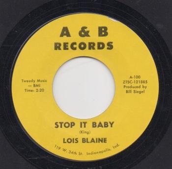 LOIS BLAINE - STOP IT BABY