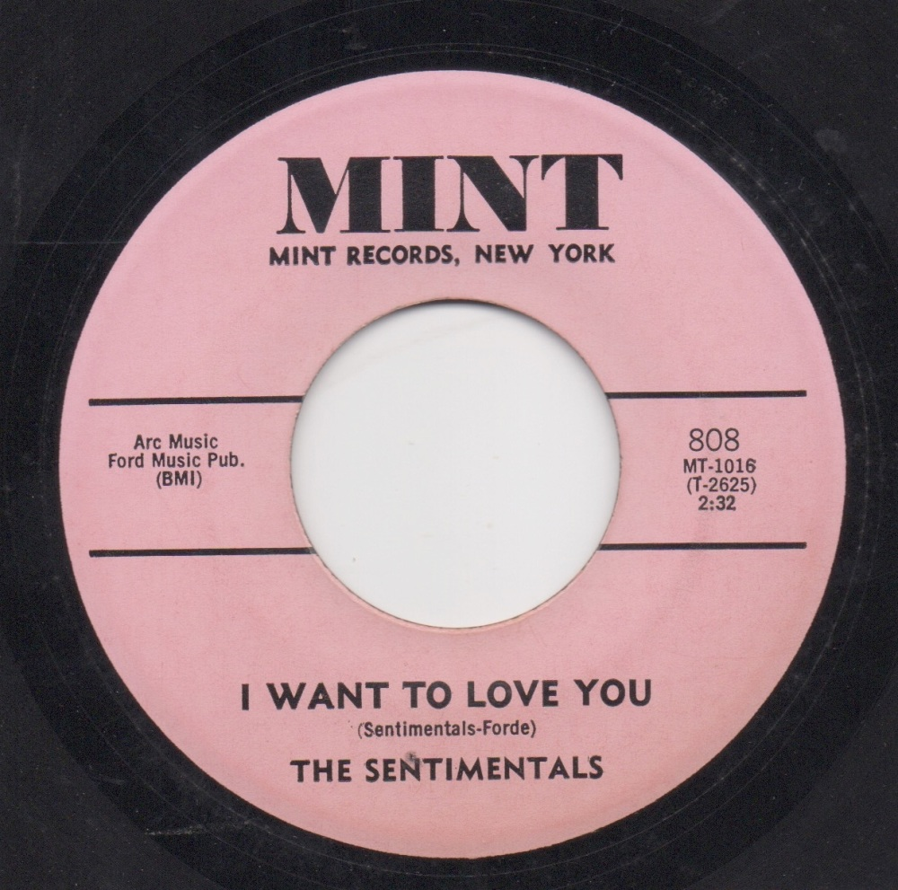 SENTIMENTALS - I WANT TO LOVE YOU