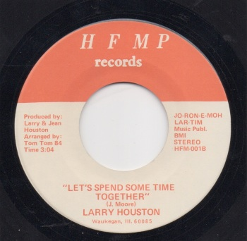 LARRY HOUSTON - LET'S SPEND SOME TIME TOGETHER