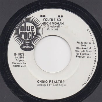 CHINO FEASTER - YOU'RE SO MUCH WOMAN