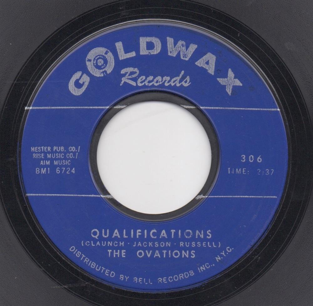 OVATIONS - QUALIFICATIONS