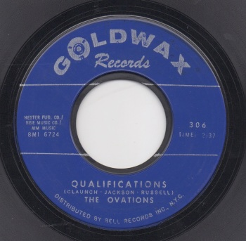 OVATIONS - QUALIFICATIONS