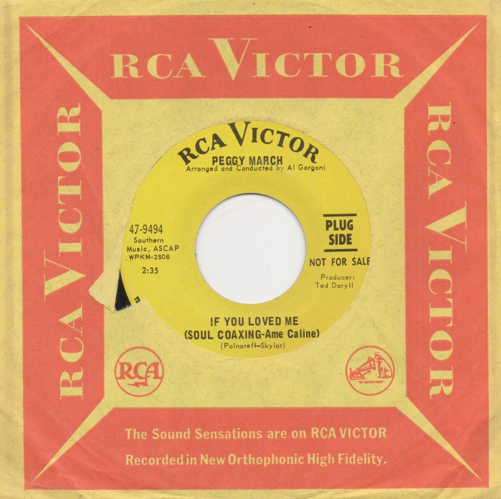 PEGGY MARCH - IF YOU LOVED ME (SOUL COAXING-Ame Caline)