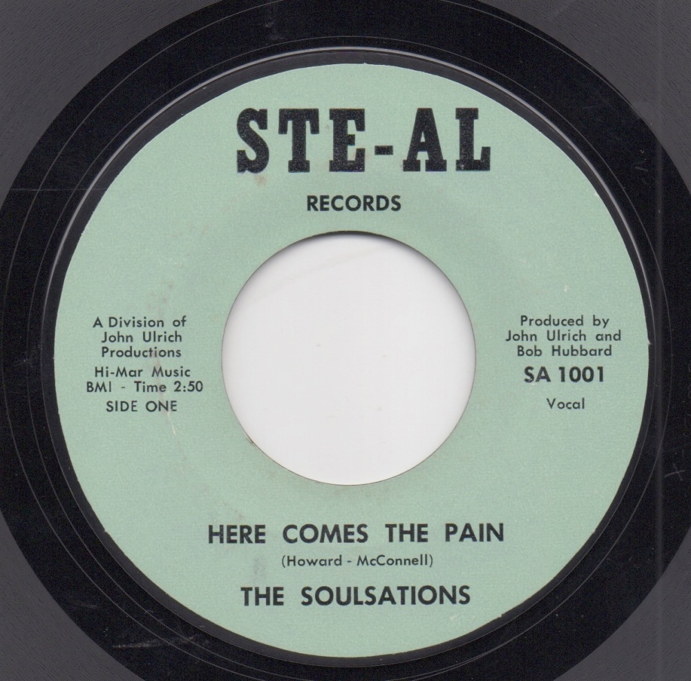 SOULSATIONS - HERE COMES THE PAIN