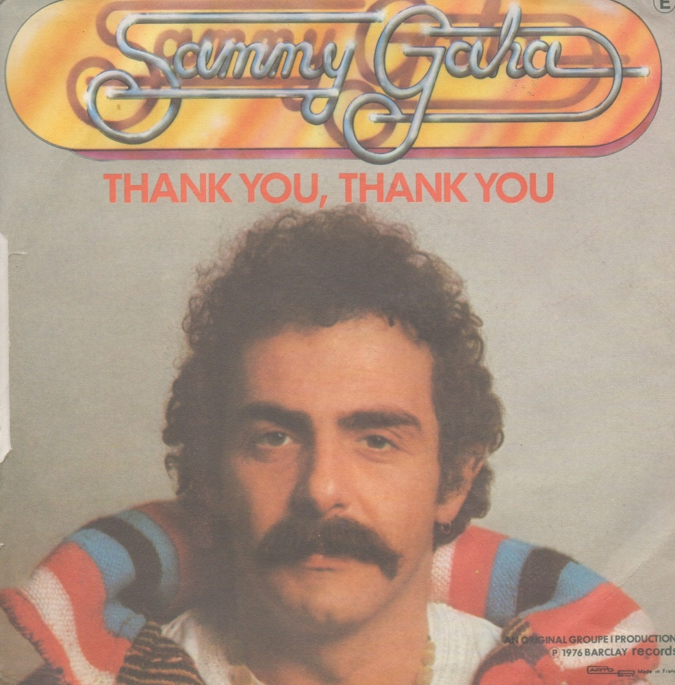 SAMMY GAHA - THANK YOU, THANK YOU