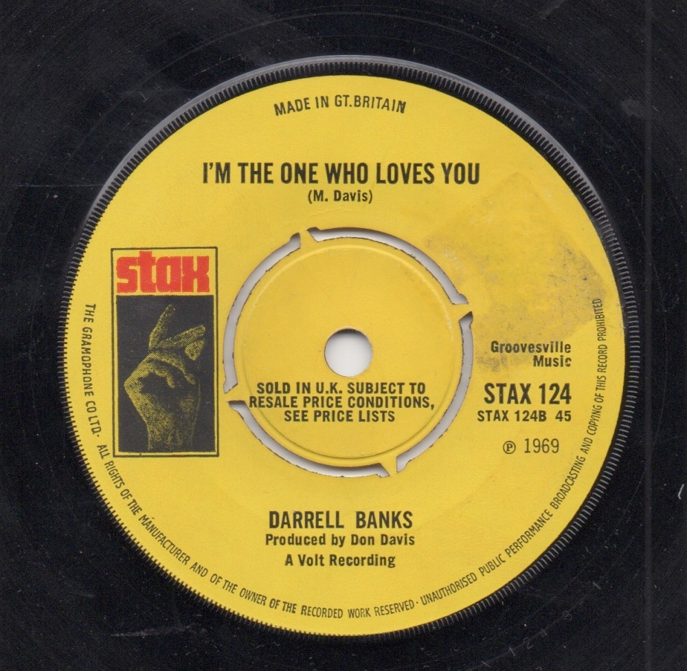 DARRELL BANKS - I'M THE ONE WHO LOVES YOU