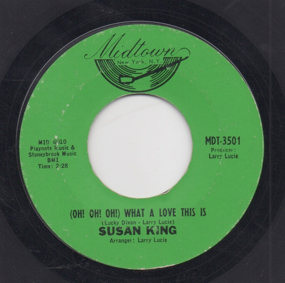SUSAN KING - (OH! OH! OH!) WHAT A LOVE THIS IS