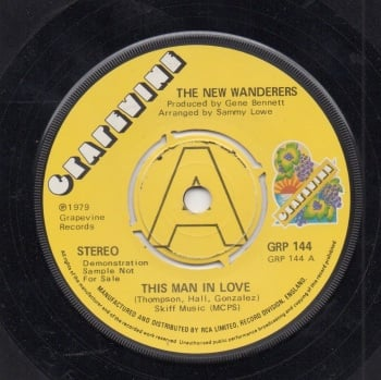 NEW WANDERERS - THIS MAN IN LOVE