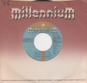 BAY BROTHERS - WHAT DOES IT TAKE (TO WIN YOUR LOVE)