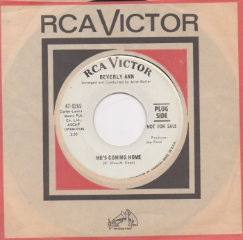 BEVERLY ANN - HE'S COMING HOME
