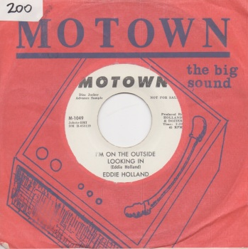 EDDIE HOLLAND - I'M ON THE OUTSIDE LOOKING IN