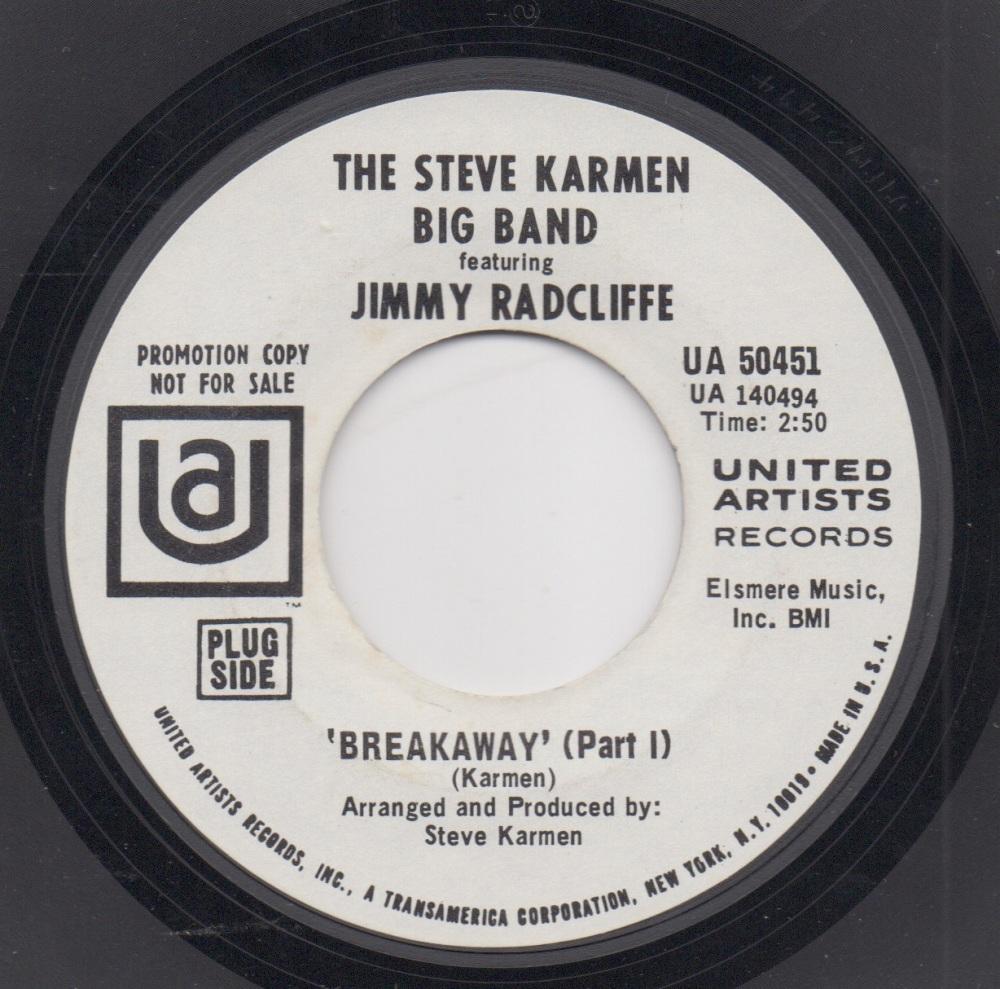 STEVE KARMNE BIG BAND featuring JIMMY RADCLIFFE - BREAKAWAY (Part 1)