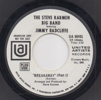 STEVE KARMEN BIG BAND featuring JIMMY RADCLIFFE - BREAKAWAY (Part 1)