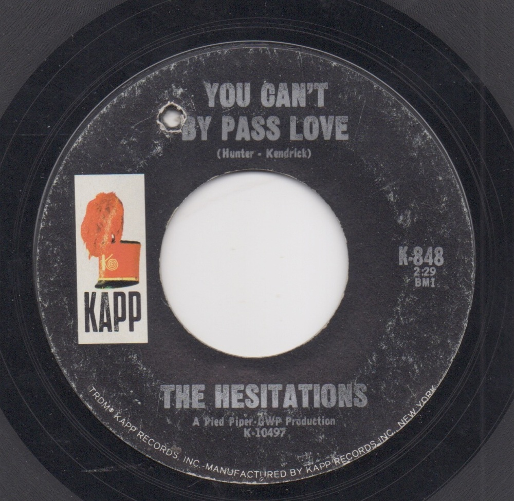 HESITATIONS - YOU CAN'T BY PASS LOVE