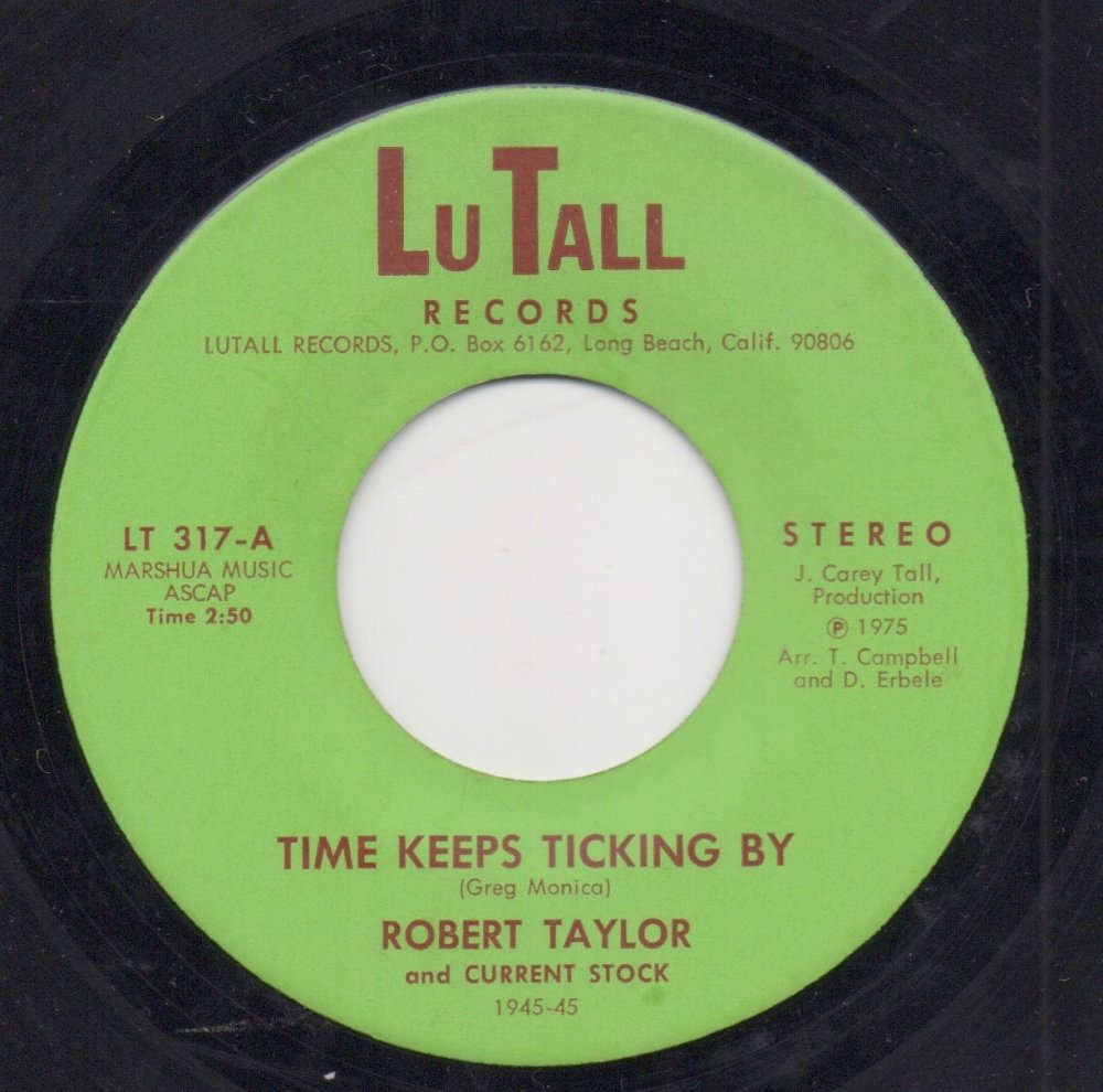ROBERT TAYLOR - TIME KEEPS TICKING BY