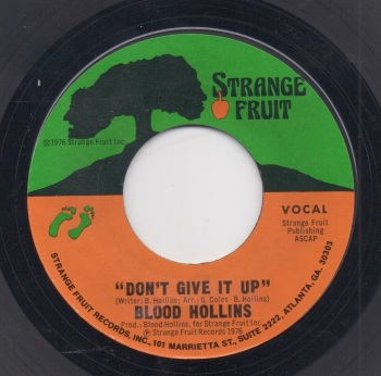 BLOOD HOLLINS - DON'T GIVE IT UP