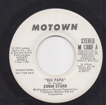 EDWIN STARR - BIG PAPA