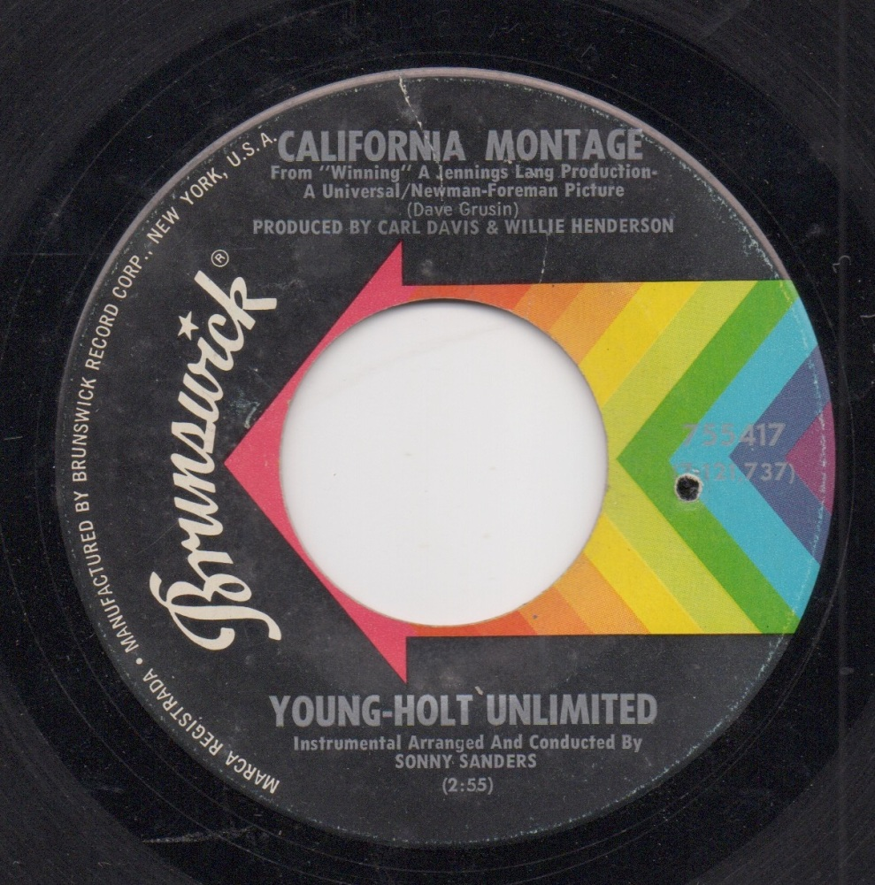 YOUNG-HOLT UNLIMITED - CALIFORNIA MONTAGE