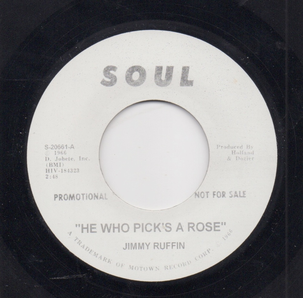 JIMMY RUFFIN - HE WHO PICK'S A ROSE