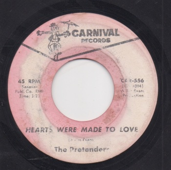 PRETENDERS - HEARTS WERE MADE TO LOVE / FOR THE REST OF MY DAYS