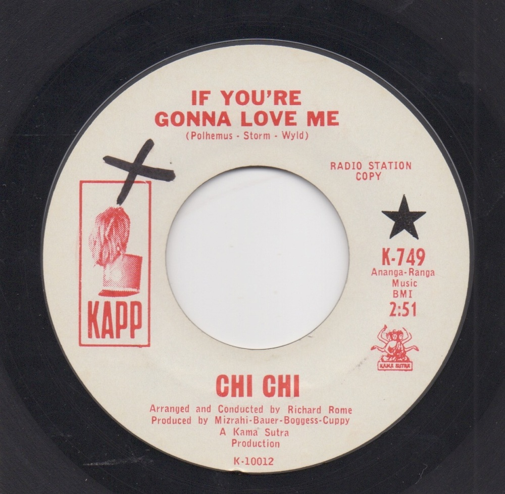 CHI CHI - IF YOU'RE GONNA LOVE ME