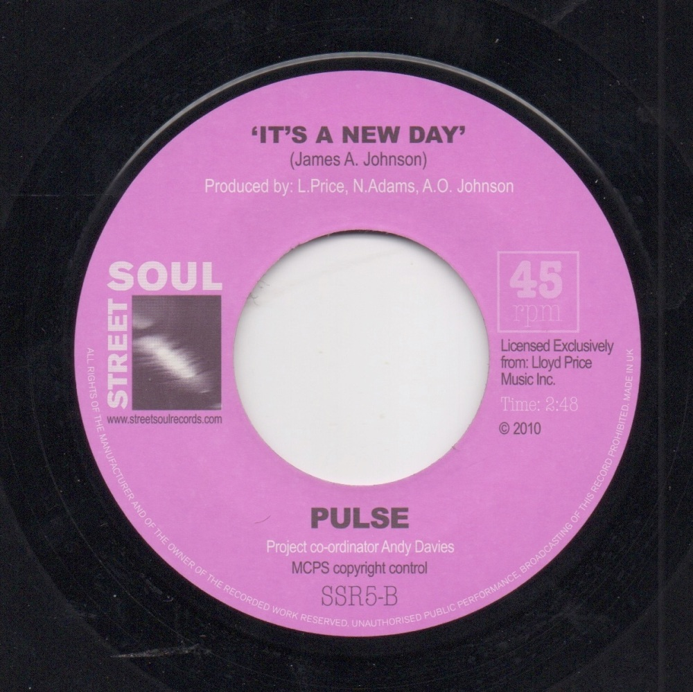 PULSE - IT'S A NEW DAY / SUNSHINE