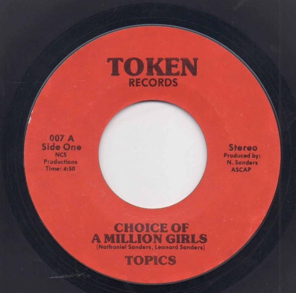 TOPICS - CHOICE OF A MILLION GIRLS / MAN