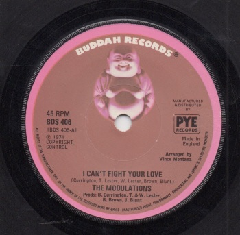MODULATIONS - I CAN'T FIGHT YOUR LOVE / YOUR LOVE HAS ME LOCKED UP