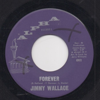 JIMMY WALLACE - FOREVER