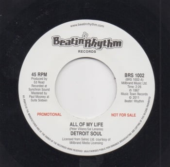 DETROIT SOUL - ALL OF MY LIFE