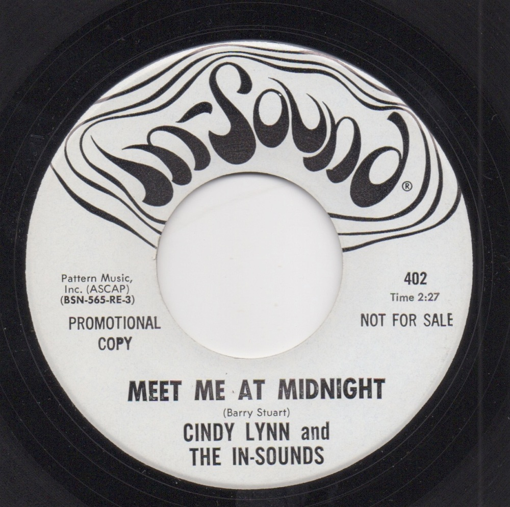 CINDY LYNN & THE IN-SOUNDS - MEET ME AT MIDNIGHT