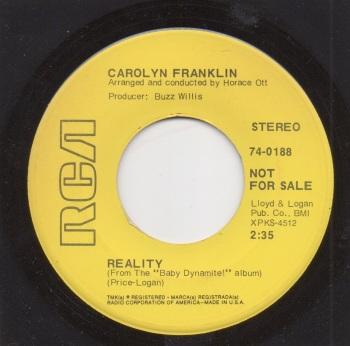 CAROLYN FRANKLIN - REALITY