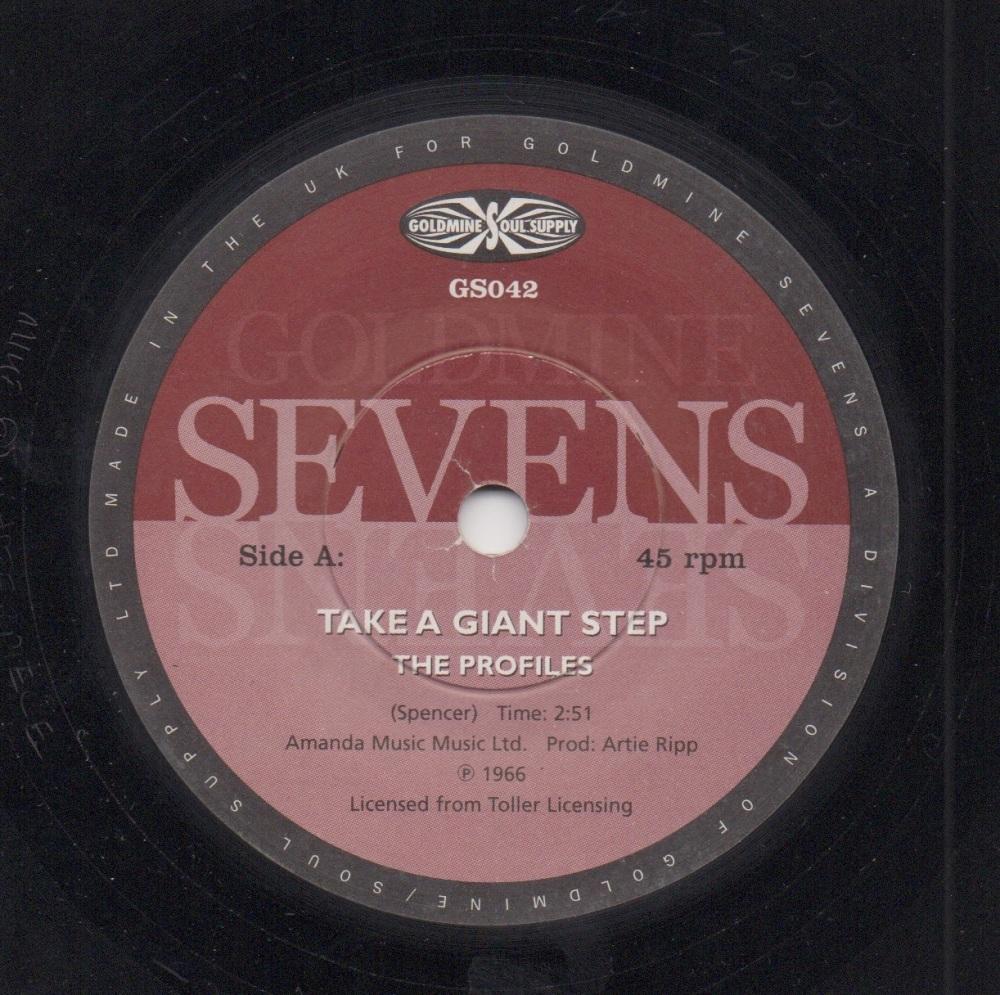 PROFILES / GEORGE SMITH - TAKE A GIANT STEP / I'VE HAD IT