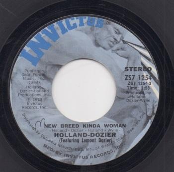 HOLLAND-DOZIER - NEW BREED KINDA WOMAN