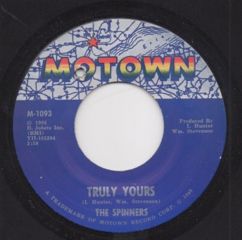 SPINNERS - TRULY YOURS / WHERE IS THAT GIRL