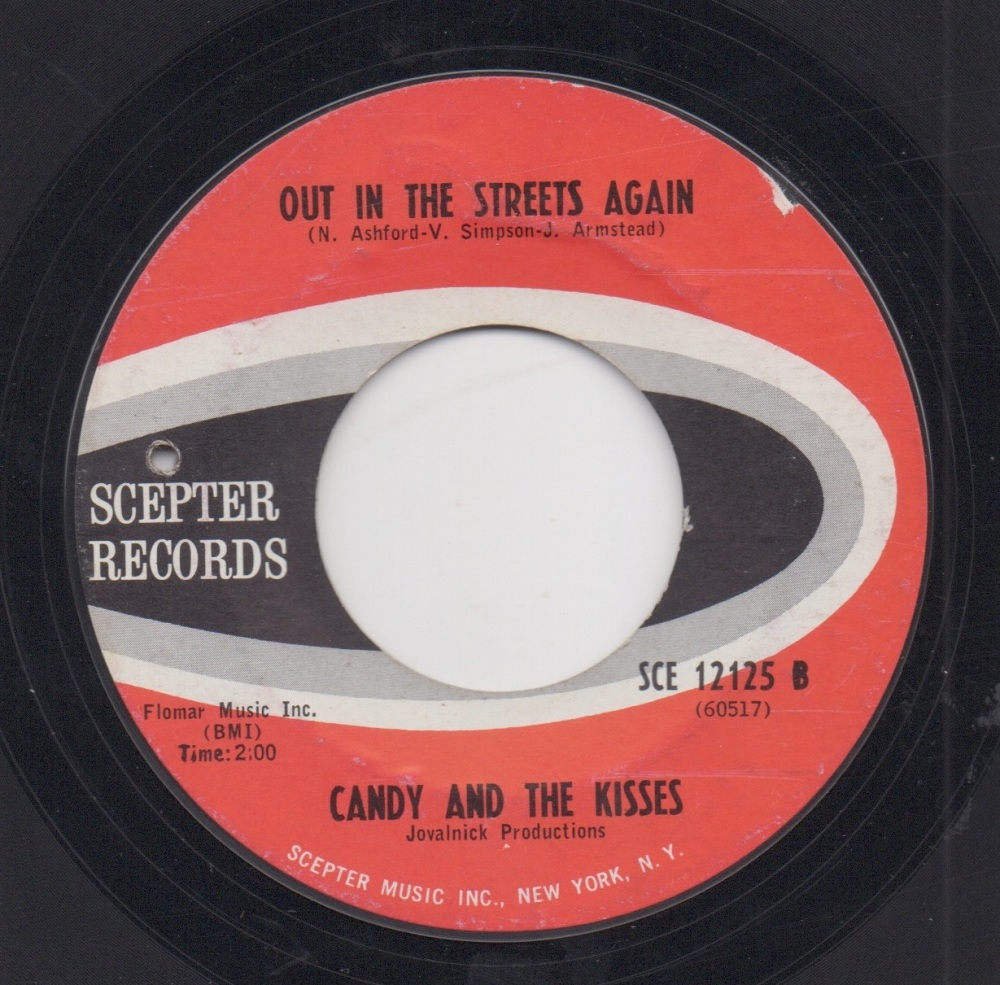 CANDY & THE KISSES - OUT IN THE STREETS AGAIN