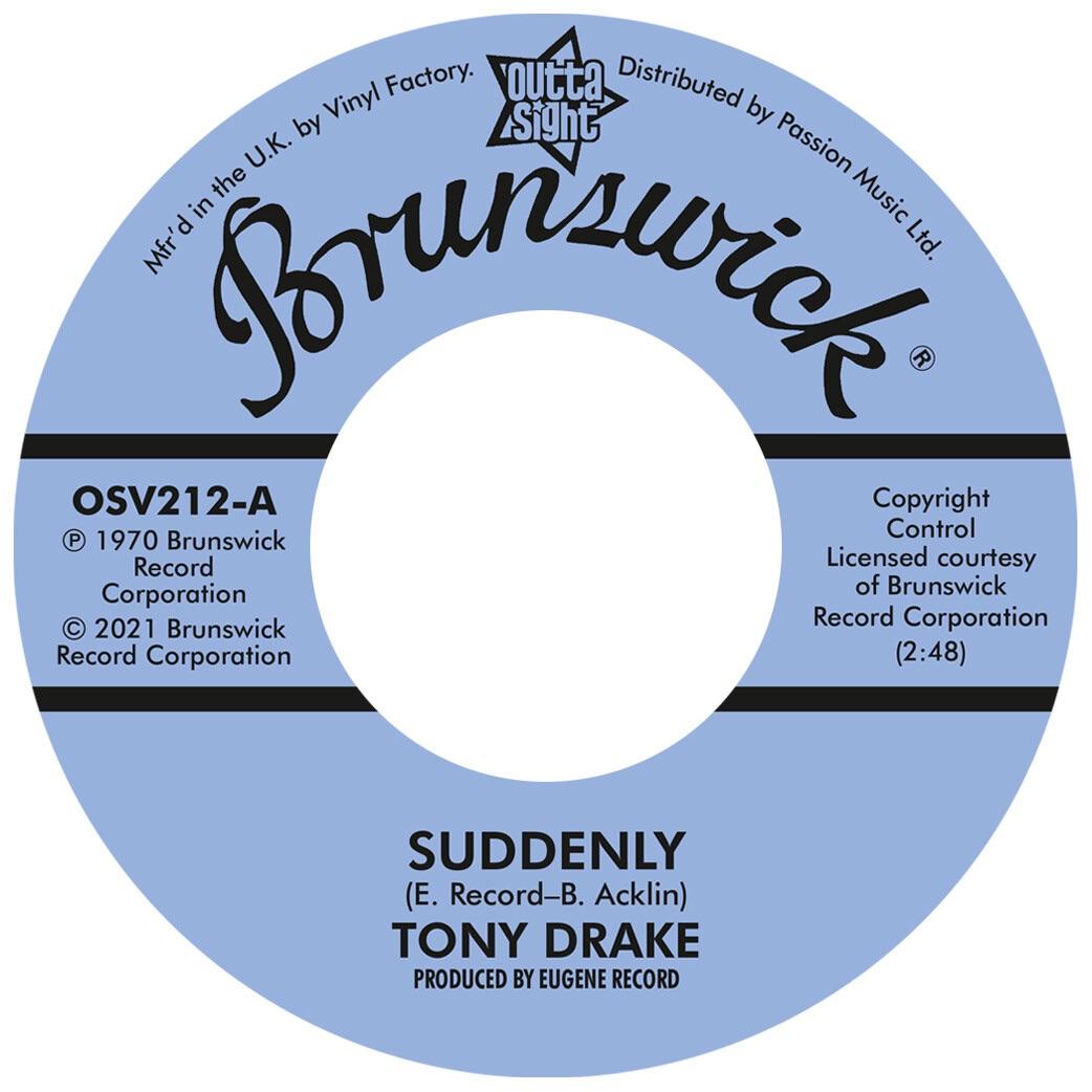 TONY DRAKE / GENE CHANDLER - SUDDENLY / MY BABY'S GONE