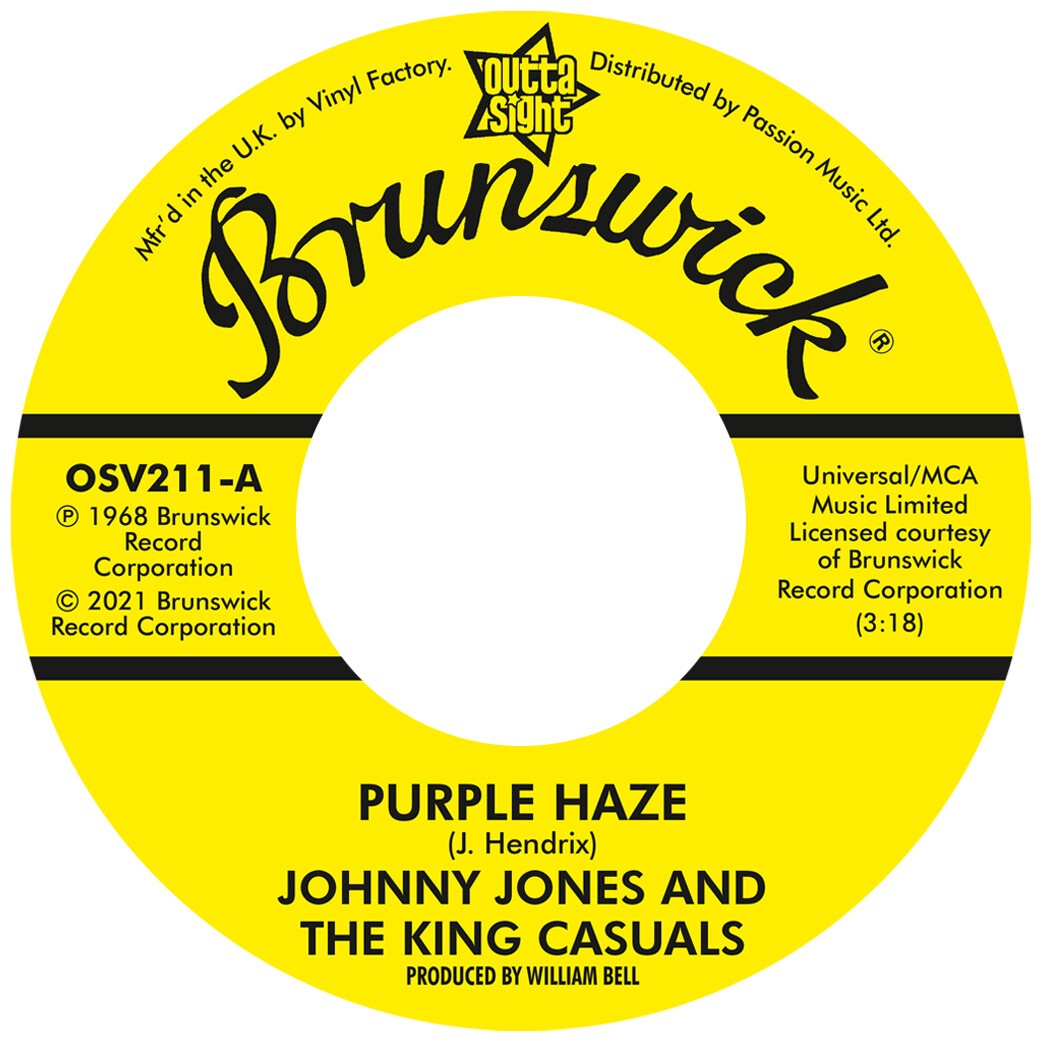 JOHNNY JONES & THE KING CASUALS / GENE CHANDLER - PURPLE HAZE / THERE WAS A