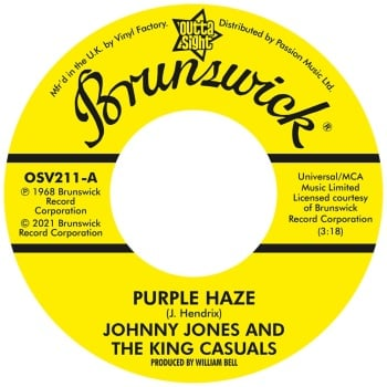 JOHNNY JONES & THE KING CASUALS / GENE CHANDLER - PURPLE HAZE / THERE WAS A TIME