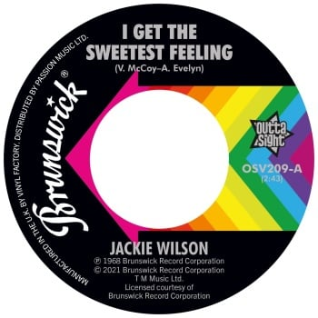 JACKIE WILSON - I GET THE SWEETEST FEELING / IT ONLY HAPPENS WHEN I LOOK AT YOU